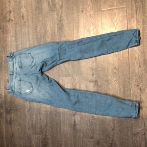 Blue Spice Jeans - Ripped Denim Jeans
